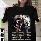 James Bond Thank For The Memories Signed Actor Gifts Action movie T-Shirt S-XL $15.98 USD on eBay