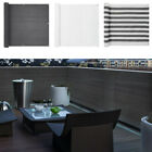 Deck Balcony Privacy Screen Hdpe Screening Fence Garden Sunshade Wall Panel 4/6m