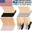 5/10Pcs Mens Womens Invisible Socks Loafer Boat No Show Ankle Low Cut Breathable