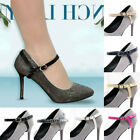 2 Womens Shoes Strap No Tie Shoelace High Heel Anti-slip Lady Adjustable Straps