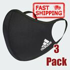 3 Pack Adidas Face Mask Cover Protection 100% Authentic