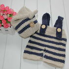 Kyпить Infant Newborn Baby Boys Girls Clothes Crochet Knit Had + Pants Overalls Outfits на еВаy.соm