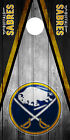 SINGLE Buffalo Sabres Cornhole Wrap Skin Decal Vinyl Board NHL Game NK76 $31.95 USD on eBay