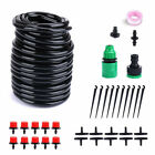 Diy Micro Drip Irrigation Self Plant Watering Garden Hose System Set Auto Timer