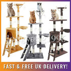 Large Multilevel Cat Tree Scratching Post Kitten Climbing Tower Activity Centre√