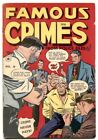 Famous Crimes #9 1949- Canadian edition- Golden Age VG image