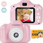Suncity Kids Camera Boy Toys Gifts for 2-8 Year Old Camcorder 2.0 Inch Screen