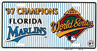 FLORIDA MARLINS 1997 MLB CHAMPS LICENSE PLATE AUTO TAG #732 NEW on Ebay