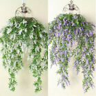 2x Artificial Ivy Flower Vine Garland Hanging Home Trailing Basket Plants Decor