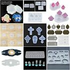 Silicone Resin Mold For DIY Jewelry Pendant Making New Craft Tool Mould M7V1