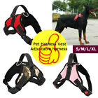 Dog Harness No Pull Pet Vest Adjustable Easy Control Walking Nylon Multi-size