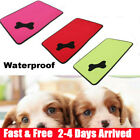 Waterproof Washable Dog Bed Pet Kennel Cushion Mat Crate Cage Pad House Small L