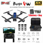 MJX B4W Bugs Camera 4K HD 5G WIFI FPV GPS RC Drone Quadcopter Altitude Hold UK