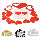 3d Mirror Love Hearts Wall Sticker Removable Home Room Decor Art Mural Decal Ks