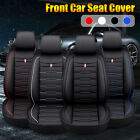 Luxury Car Front 5 Seat Cover Protector Cushion PU Leather Universal Waterproof $68.07 CAD on eBay