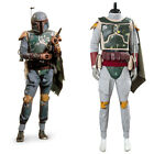 Star Wars Boba Fett Cosplay Costume Halloween Uniform Carnival Suit Outfit $190.0 USD on eBay