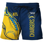 Los Angeles Chargers Football Swimwear Shorts Beach Surfing Swimming Trunks Gift $31.69 CAD on eBay
