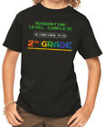 Kyпить Quarantine Level Complete 2nd Grade Gamer Youth Boy T Shirt Cotton Black на еВаy.соm
