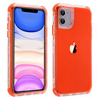 For iPhone 11 Pro Max 11 Pro 11 Hybrid Shockproof Bumper Rubber Clear Case Cover
