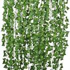 Fake Ivy Leaves 6pk., Artificial Greenery Vines For Decor, Room Decor Garland