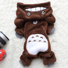 Puppy Dog Clothes Hooded Costume Small Pet Cat Pajamas Jackets Apparel Jumper AU