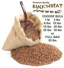 Premium Quality Bulk Roasted Buckwheat Groats from Russia Choose 1 - 55 lbs