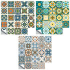 24pcs Pvc Waterproof Self-adhesive Oil Proof Decal Tile Stickers Home Decor 7e