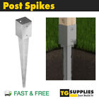Heavy Duty Galvanised Fence Post Spike Post Support Post Base Post Foot Pergola