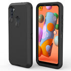 For Samsung Galaxy A21/A11 Case Shockproof Armor Cover / Glass Screen Protector