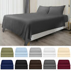 Full Size Bed Sheet Set of 4 Pieces Bedding Sheets Cover Deep Pockets Easy Fit