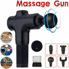 Massage Gun Percussion Massager Muscle Vibration Relaxing Therapy Deep Tissue TB