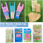 Dog Puppy Pet Poop Poo Bags Eco Biodegradable Scented NoTouch Box Waste Clean Up