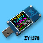 YZXstudio ZY1276 USB Power Monitor QC 3.0 TypeC Power Delivery PD Tester FCP