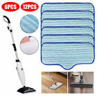 6/12X Washable Replacement Microfiber Cleaning Pad for Dupray Neat Steam Cleaner
