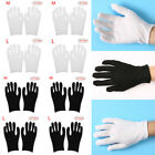 Внешний вид - 24 Pair Cotton Work Gloves for Eczema Coin Handling Inspection Ceremony Magician