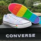 Converse Unisex Chuck Taylor All Star PRIDE OX WHITE MULTI PRO LOW SHOES 165717C