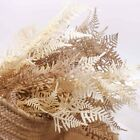 Dried-look Fern Leaf Spray 76cmh Artificial Faux Flower Diy Arranging Home Decor