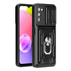 For Samsung Galaxy A01 A11 A21 A21S Case Rugged Armor Ring Kickstand Phone Cover