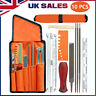 More images of 10X Chainsaw Sharpening File Stihl Filing Kit Chain Sharpen Files Tools Saw UK