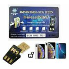 Heicard Turbo unlock Chip Sim Card For Apple iPhone 12 Pro Max/11 Pro Max/XR/8