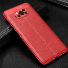 For Xiaomi POCO X3 NFC Slim Soft TPU Leather Case Shockproof Ultra Thin Cover