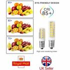 2pcs E14 7W LED Light Bulb for Kitchen Range Hood Chimmey Fridge Cooker UK