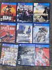 PS4 VIDEO GAME LOT -  FREE SHIPPING!