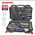 Workpro Professional Mechanical Hand Tool Set for Car Repair Spanner Wren