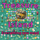 🎃Treasure Island 2 hours Animal Crossing [🟢Online 24/7] villagers, cataloging
