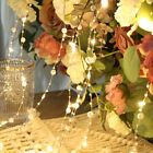 50LED Pearl Lights Battery Garden Fairy String Micro Wedding Party Bedroom Decor