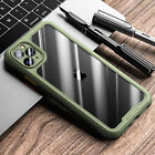 For iPhone 12 Pro Max 11 12Mini XS XR 8 7 SE2 Shockproof Bumper Clear Case Cover
