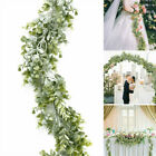 6.3ft Artificial Fake Eucalyptus Garland Plants Greenery Foliage Home Decor Uk