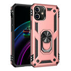 For iPhone 12 Pro 11 Pro Max 7 8Plus XS Max XR Case Hybrid Shockproof Ring Cover