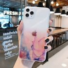 For iPhone 12 11 Pro Max X XR XS 7 8+ Soft Glitter Design Phone Case Back Cover